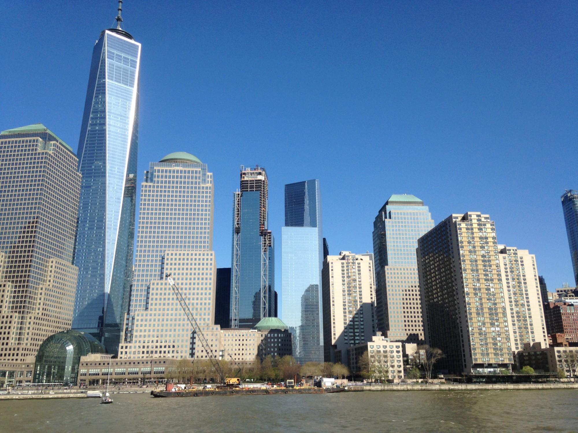 voyage à New York Août 2017 - quartier downtown