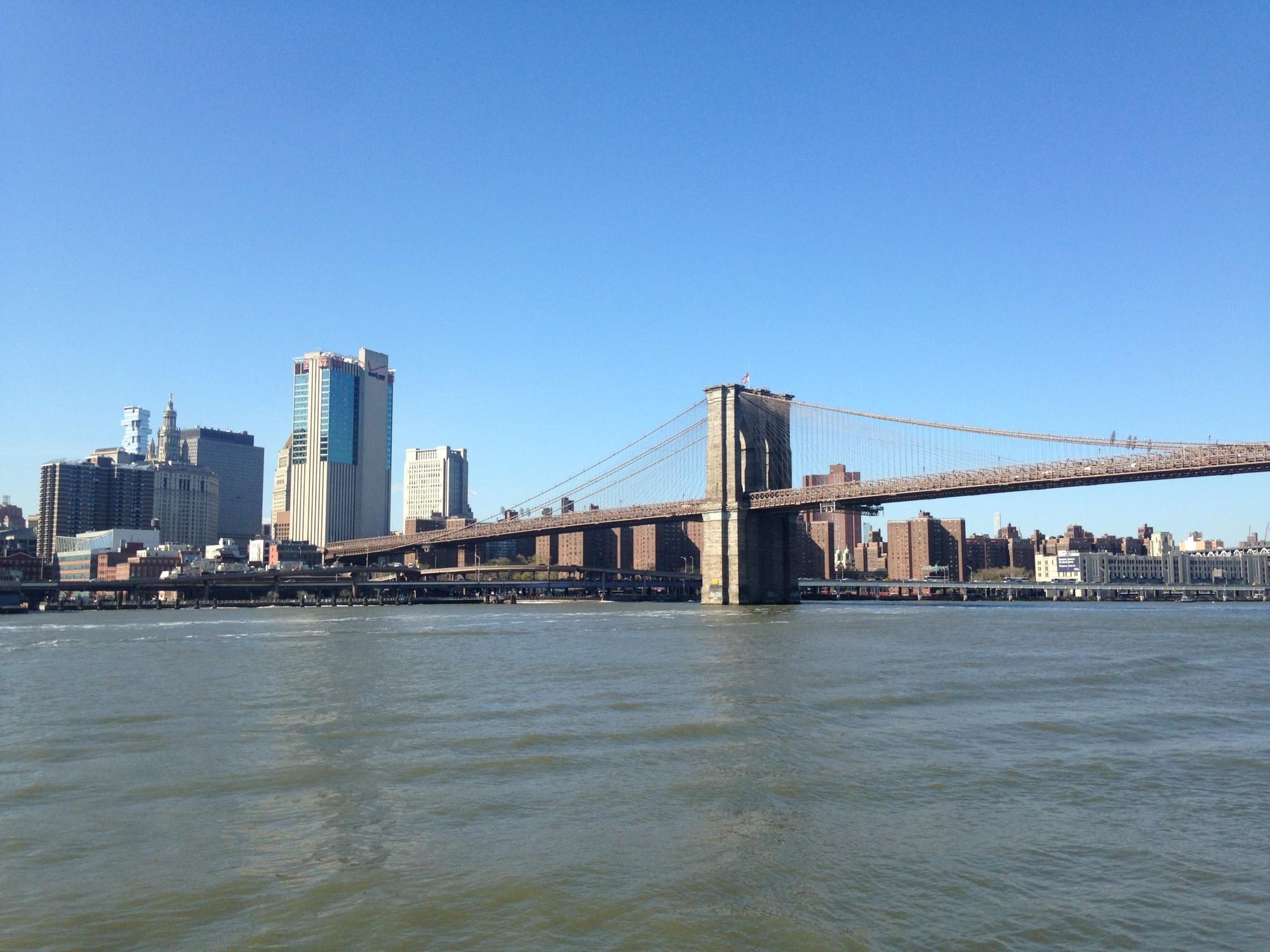 voyage organisé à New York - vue sur pont de Brooklyn
