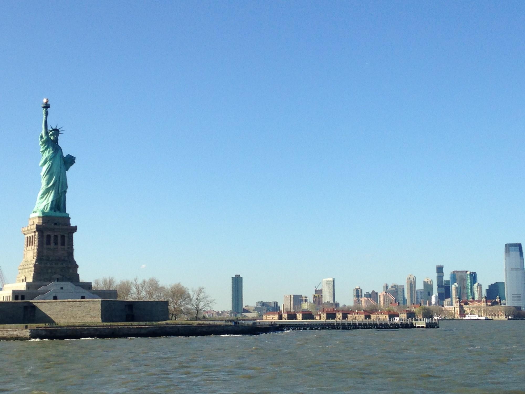 découverte de New York et de la Statue de la Liberté