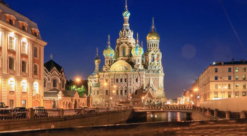 Saint Petersbourg- église du Saint Sauveur sur le Sang versé