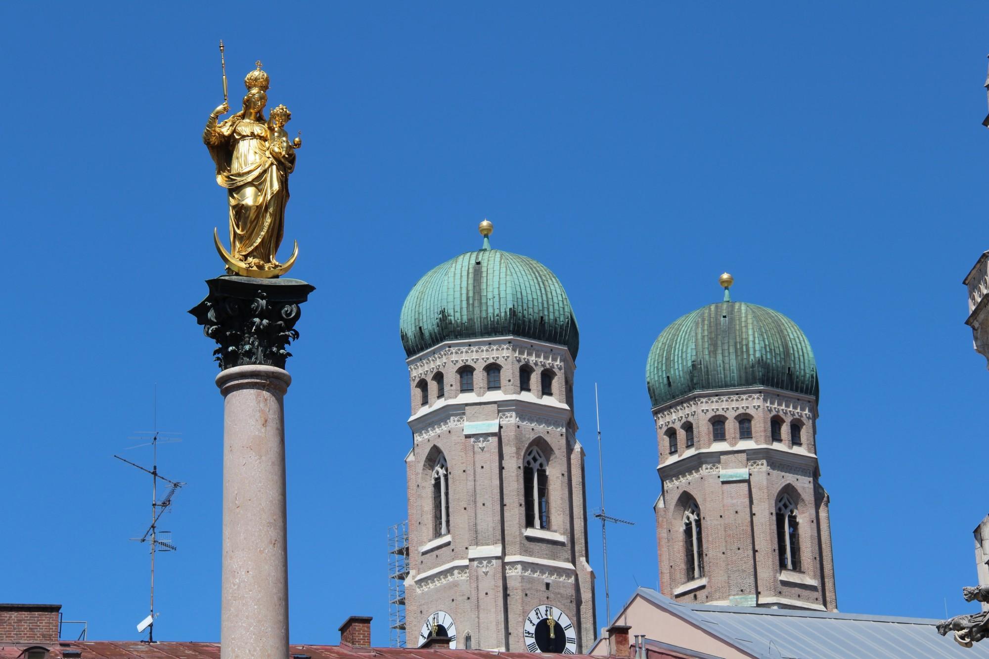 cathédrale Notre Dame à Munich