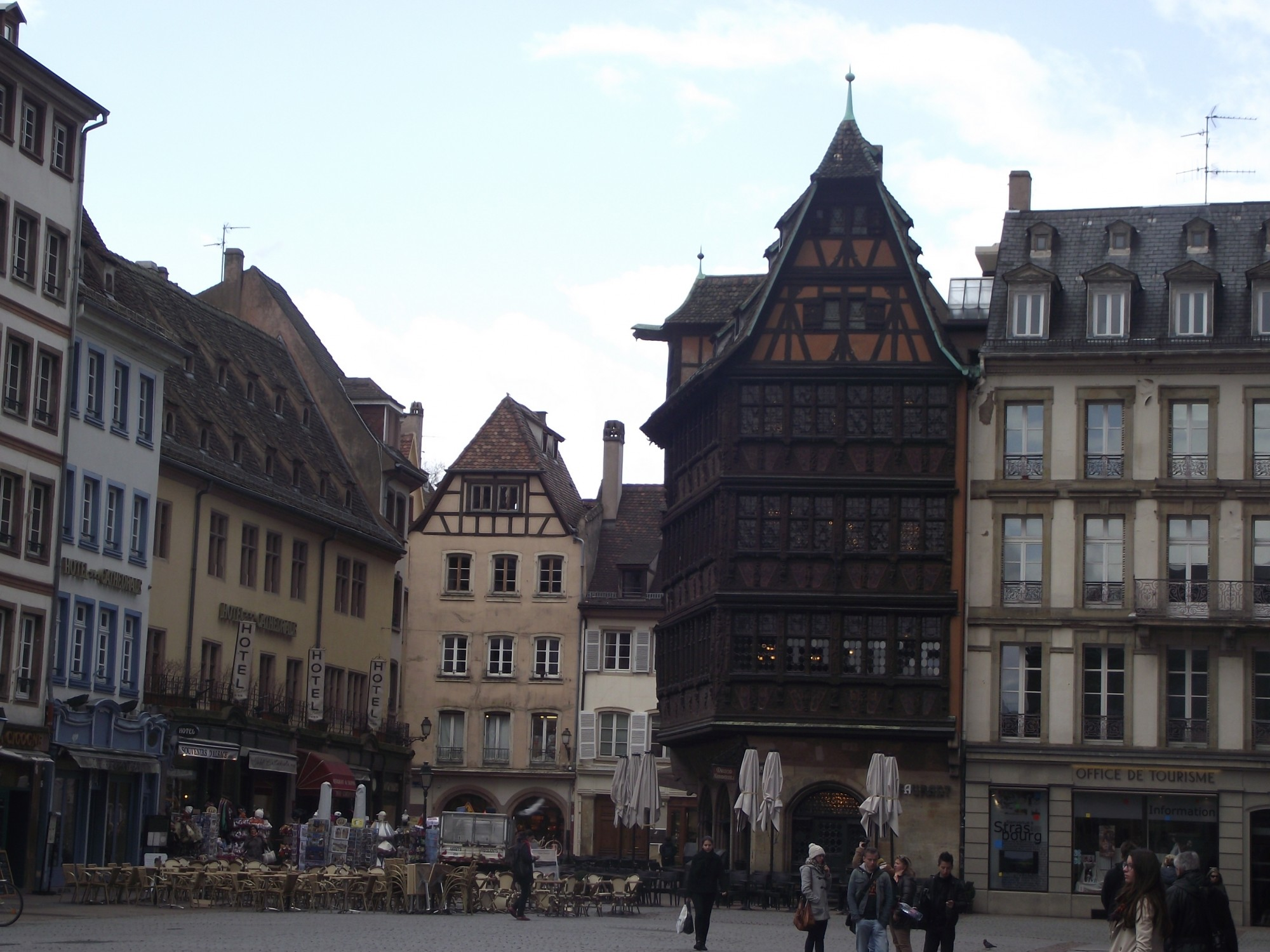 place de la cathédrale Strasbourg