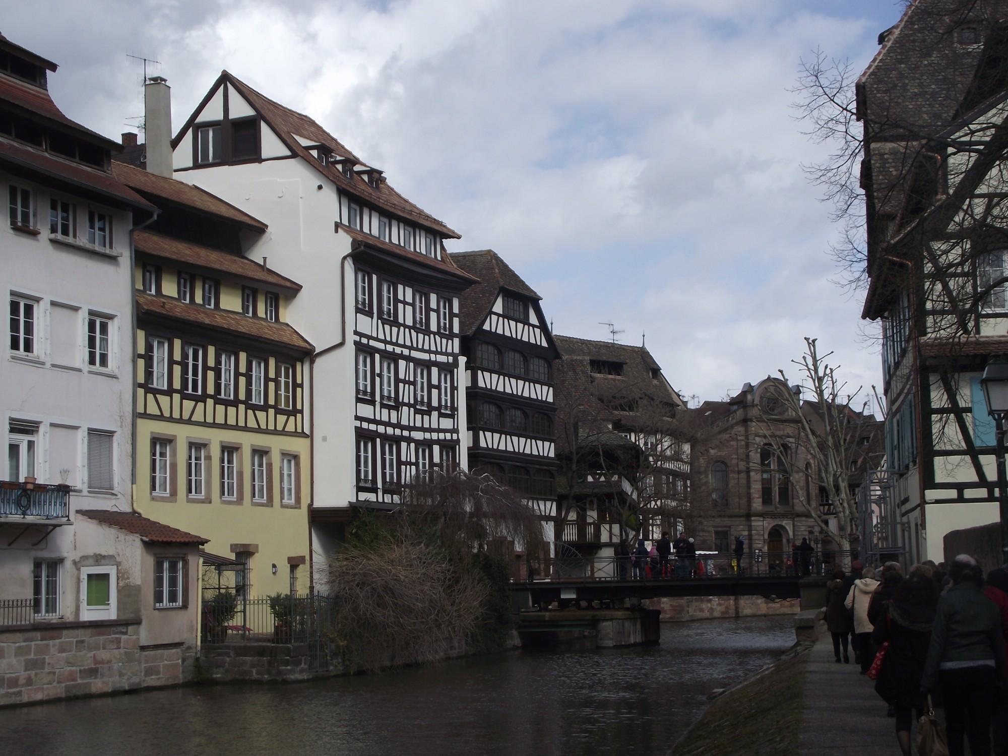 Strasbourg quartier de la petite France