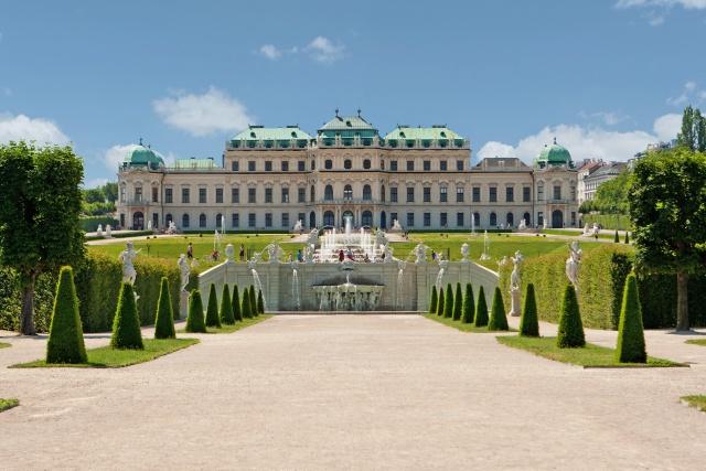 Palais Belvédère à Vienne