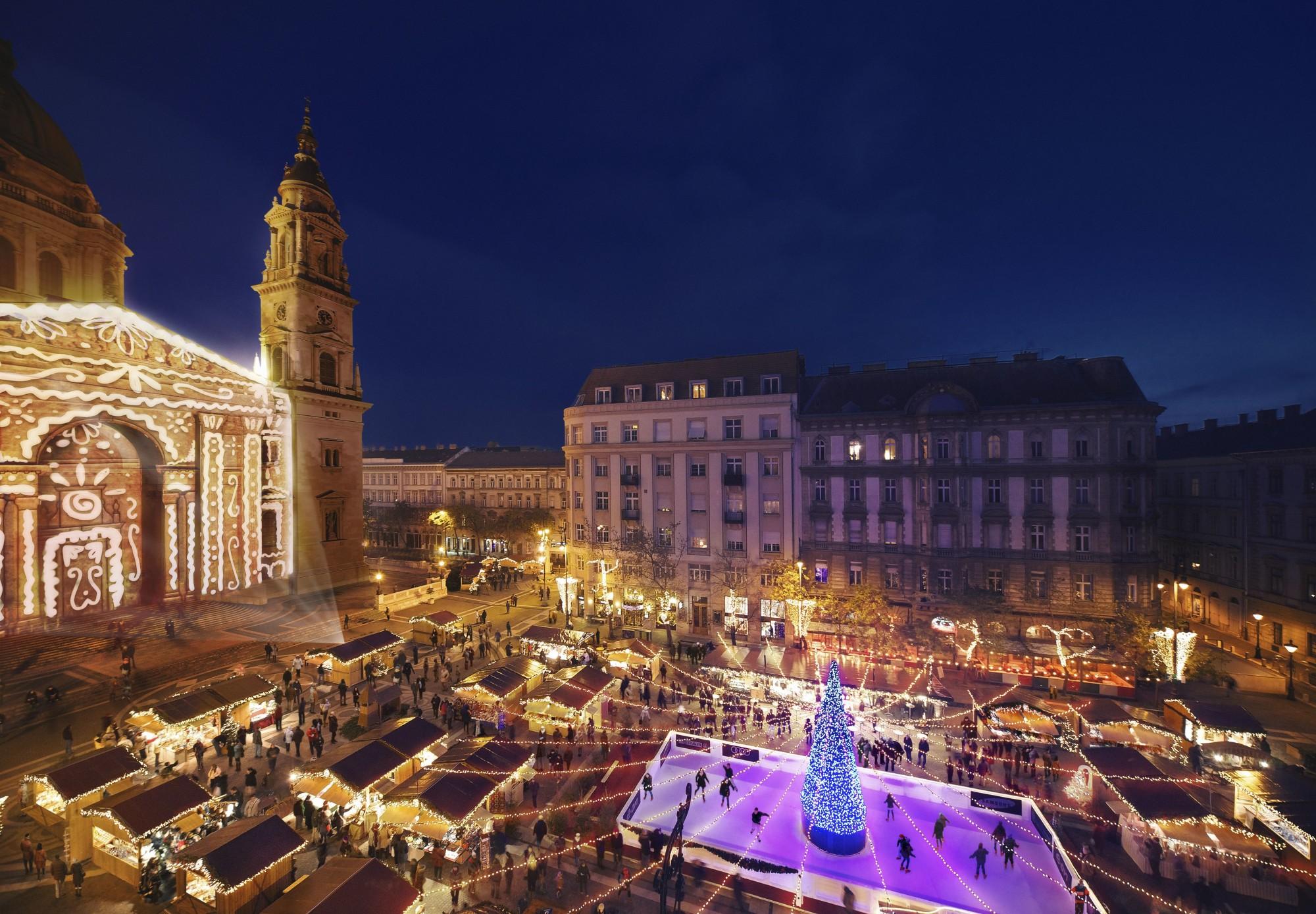 Marchés de Noël à Budapest en croisière sur le Danube
