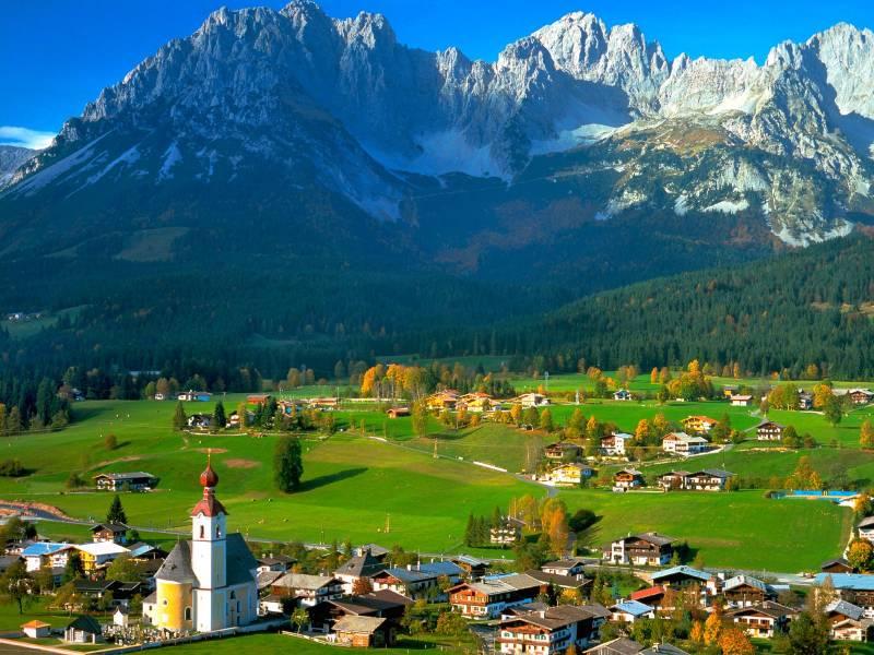 voyage en autocar au Tyrol Automne 2015