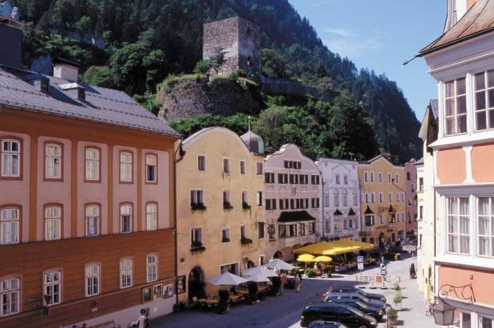 séjour en Autriche dans la province du Tyrol en Septembre 2016