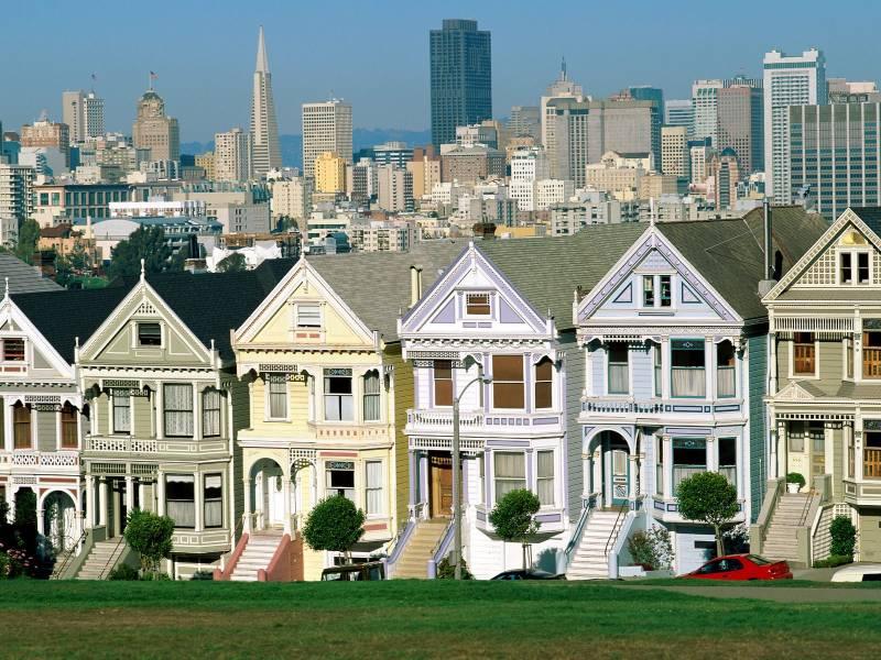 San Francisco côte pacifique Ouest américain