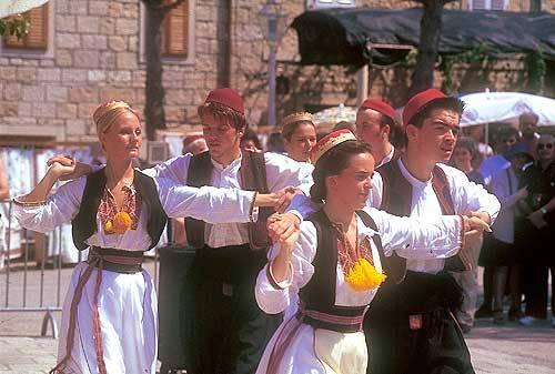 Le groupe Lindjo à Dubrovnik