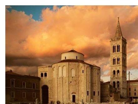 Zadar Eglise de ST-Donat