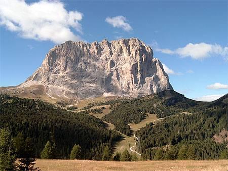 circuit dans le Haut Adige dans les Dolomites