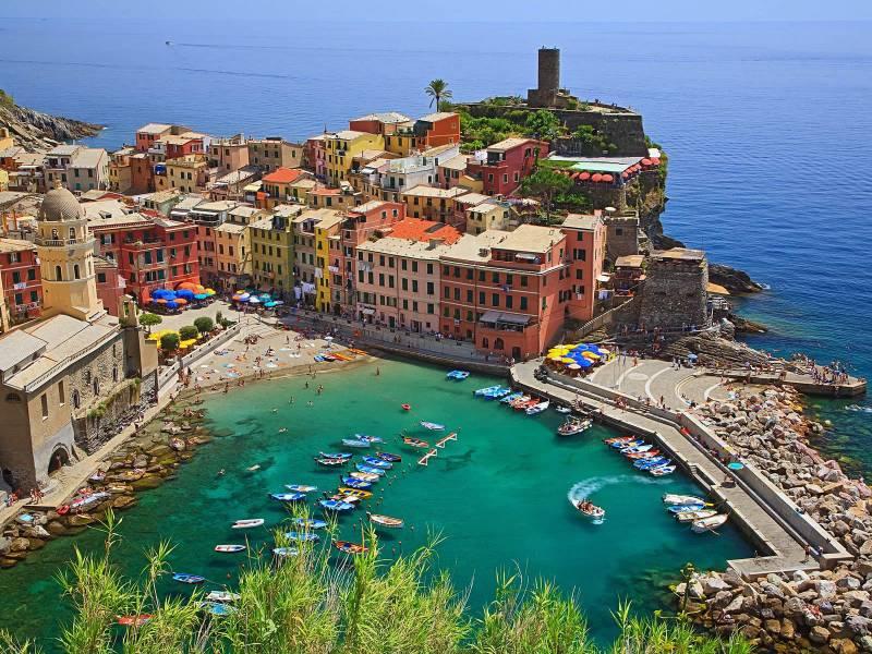 voyage en Italie dans la région de Ligurie et archipel de la Toscane