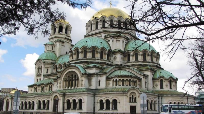 Cathédrale Alexandre Nevski Sofia Bulgarie