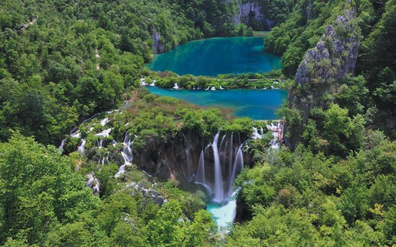 Lac de Plitvice en Croatie