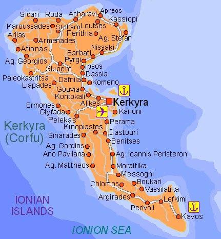 Voyage à Corfou Mai 2016