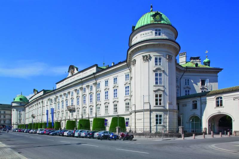 palais impérial d'Innsbruck au tyrol en autriche