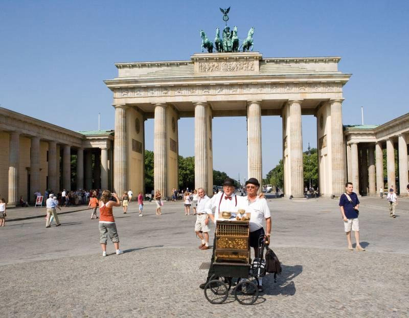 séjour à Berlin dans un hôtel à coté de la porte de Brandenbourg