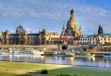 découverte de Dresde, le Florence de l'Elbe