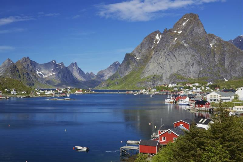 Croisière 12 jours: Fjords de Norvège, îles Lofoten et Cap Nord  du 25 Juin au 06 Juillet 2018 PROMOTION