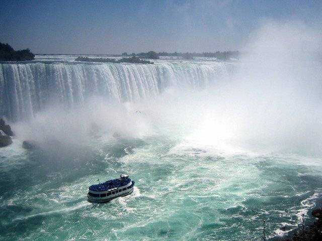 bateau Maid of the Mist