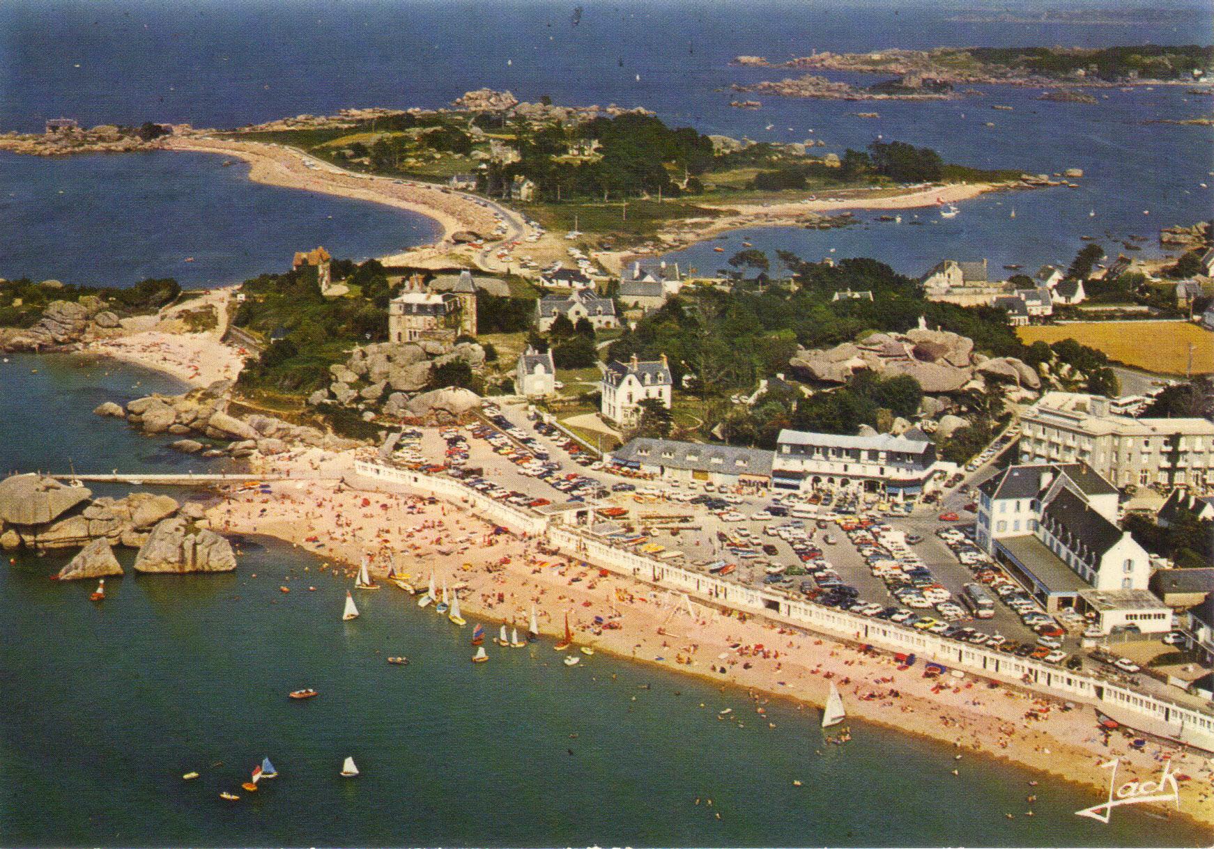 Découverte de la côte de Bretagne et Tregastel